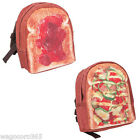 Kids Backpacks Yummy Pizza, Jam Toast Napsacks Kindergarten, School Bag/Kawaii