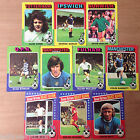 Topps Footballers 1975 (Red Backs)  Your Choice of Cards
