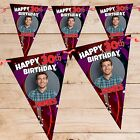 Personalised 18th 21st 30th 40th 50th Happy Birthday Flag Banner Bunting N74