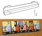 Post Card Rack - Slat Fix Display 600mm x 60mm x 40mm acrylic perspex OW1030