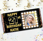 Personalised Happy Birthday 114g Galaxy Milk Chocolate Bar / Wrapper Gift N101