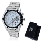 Men Luxury Stainless Steel Date Automatic Mechanical Analog Wrist Watch With Box