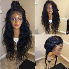 """20"""" Peruvian Body Wave Remy Human Hair Full Lace/Lace Front Wigs bleach knots"""