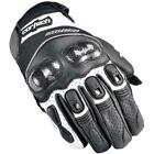CORTECH ACCELERATOR 3 BLACK WHITE Short Leather Gloves FREE SHIPPING