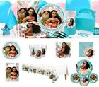 Moana Party Decoration Birthday Party Tableware Plates Cups Tablecover Party Bag