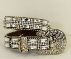 Rhinestone Bling Dog Collar Clear