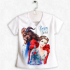 Beauty and the Beast / 2017 - Women's V-neck t-shirt