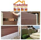 UPVC FENCING PANELS THAT CAN FIT INTO YOUR EXISTING CONCRETE POSTS