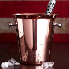 3 Color 5L Stainless Steel Ice Bucket Drinking Beer Wine Champine Bar Cooler NEW