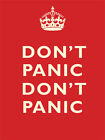DON'T PANIC DON'T PANIC METAL PLAQUE POSTER TIN SIGN NOSTALGIC OTHERS LISTED 426