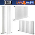 Reina Neva Steel Designer White Radiators - Horizontal & Vertical Ranges