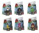 ANGRY BIRDS MOVIE KEYCHAINS SOFT PLUSH CHUCK BOMB EAGLE STELLA PIG RED