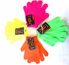 CHILDS FLOURESCENT  ONE SIZE MAGIC GLOVES STYLE- GL102