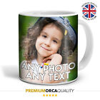 Premium Quality Personalised Custom Photo Image Mug Gift Coffee Tea Cup 11oz