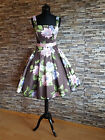 50er Petticoatkleid Rockabilly Abiball Konfirmation Retro Vintage Abend Kleid