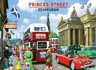 PRINCES STREET EDINBURGH SCOTLAND MG AUSTIN MORRIS CARS METAL PLAQUE SIGN 404