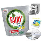 FAIRY PLATINUM ALL IN ONE LEMON DISHWASHER TABLETS DETERGENT CAPSULES 70 PACK