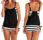 Women&#039;s Tankini Bikini Set Push-up Padded Swimsuit Bathing Suit Swimwear US <br/> ◆US ship◆2000 Sold◆Redisign for Americans◆PADED