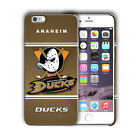 Anaheim Ducks Logo Iphone 5s SE 6s 7 8 X XS Max XR 11 Pro Plus Case Cover 05 $17.95 USD on eBay