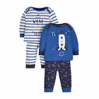 Baby Newborn Boy's Space Pyjamas - 2 Pack