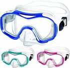 Mares Dora Silicone Snorkel Mask - Wide field of Vision - Easy adjust buckles