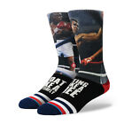 STANCE SOCKS NEW Mens Black G.O.A.T Socks Muhammed Ali BNWT