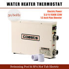 5.5/11/15KW 220V Swimming Pool & SPA hot tub electric water heater thermostat