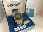 Citizen Crystron 60-1012 9010-095014Y First World's Citizen LCD Watch Early'70s