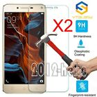 2Pcs 9H+ Premium Tempered Glass Cover Screen Protector For Lenovo Cell Phone New