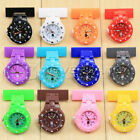 12 Color Style Nurse Watch With Pin Fob Brooch Pendant Hanging Pocket Fob watch
