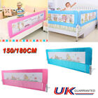 1.5/1.8M Child Bed Rail Safety Protection Guard Folding Bedrail Nobody safe care