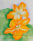 Squash Blossoms ~ Georgia O'Keeffe, Flowers ~ Cross Stitch Pattern