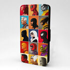 Marvel Collage Flip Case Cover For Phone - S-T2846