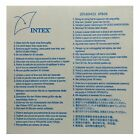 Intex Self-Adhesive Vinyl Puncture Repair Patch For Inflatables - Single