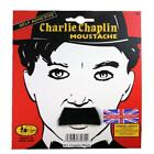 Fancy Dress Cosplay 1920s Charlie Chaplin Moustache Black Silent Movie Character