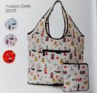 Pick! SEASIDE Expandable Weekend Bag slips over suitcase ECO CHIC Shopping FOLD