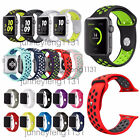 For Apple Watch 2 /1 Band 38mm 42mm Replacement Silicone Sport Bracelet Strap
