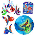 DIVE 'N' GRAB LIGHT UP GLOW FISH UNDERWATER PLAYTIME SUMMER FUN FETCH TOYS GAMES