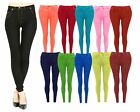 Skinny Womens Jeans Stretchy Jeggings Ladies Fit Coloured Trousers 8 10 12 14