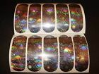 Mini Dodger Flasher Die Cut 12 Pack Holographic Fishing Lure Tape In 18 Designs