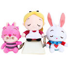 "Alice in Wonderland Plush Cheshire Cat Rabbit 8"" Dolls Stuffed Kids Toys"