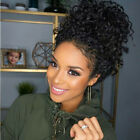 """12""""-22"""" Long Kinky Curly 100% Brazilian Human Hai Lace Front  Wig with Baby Hair"""