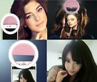 Rechargeable Selfie Fill Light Led Camera Photography Ring Light Ultra Thin