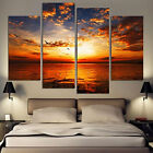 4Pcs/lot Abstract Landscape Canvas Art Painted Picture Oil Painting Home Decor