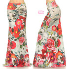 Floral Rose Sublimation high waist maxi long skirt (S/M/L/XL/1XL/2XL/3XL)