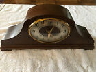 VINTAGE REVERE ELECTRIC MANTEL CLOCK -WORKING-ACCURATE-CHIMES