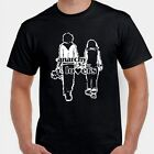 Anarchy is for lovers Anarchist couple anti system  T shirt