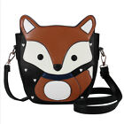 Tmyoy New Sweet Cartoon Fox Messenger Bags Top Quality Vntage Lovely Pu Women Le
