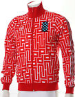 Umbro 'Diamond Icons' Retro Tracksuit Jacket Limited Edition Red in Sizes S-XXL