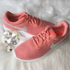 Bling Nike Tanjun Shoes with Swarovski Crystal Diamond Rhinestone * Pale Pink *